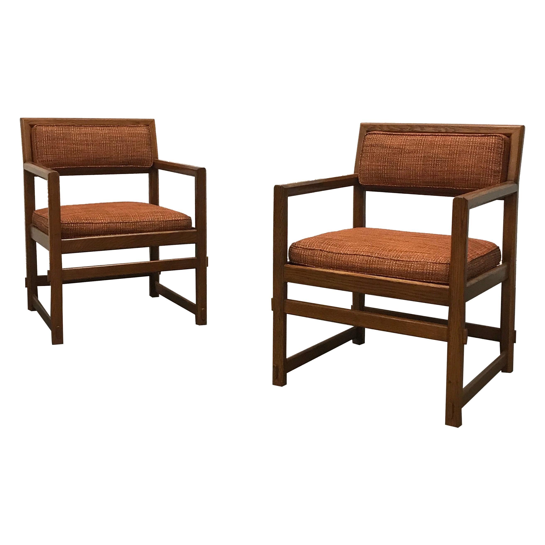 Edward Wormley for Dunbar Club Chairs