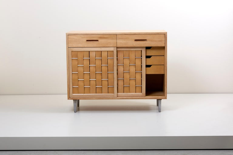 Mid-Century Modern Edward Wormley for Dunbar Credenza signed, US, 1960s For Sale