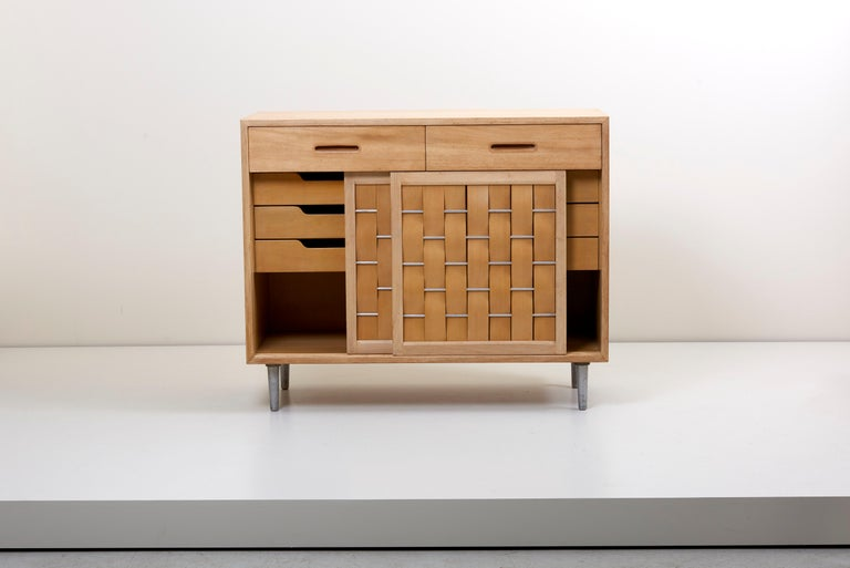 American Edward Wormley for Dunbar Credenza signed, US, 1960s For Sale