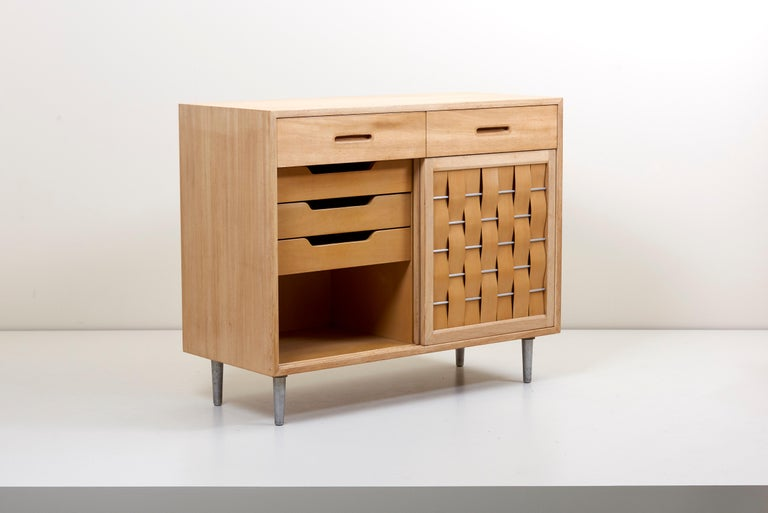 Edward Wormley for Dunbar Credenza signed, US, 1960s In Excellent Condition For Sale In Berlin, DE