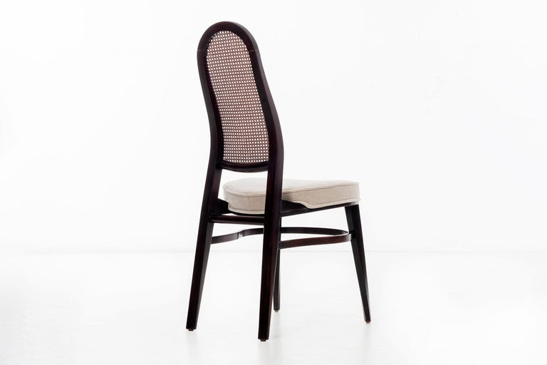 Edward Wormley for Dunbar Dining Chairs In Good Condition For Sale In Chicago, IL