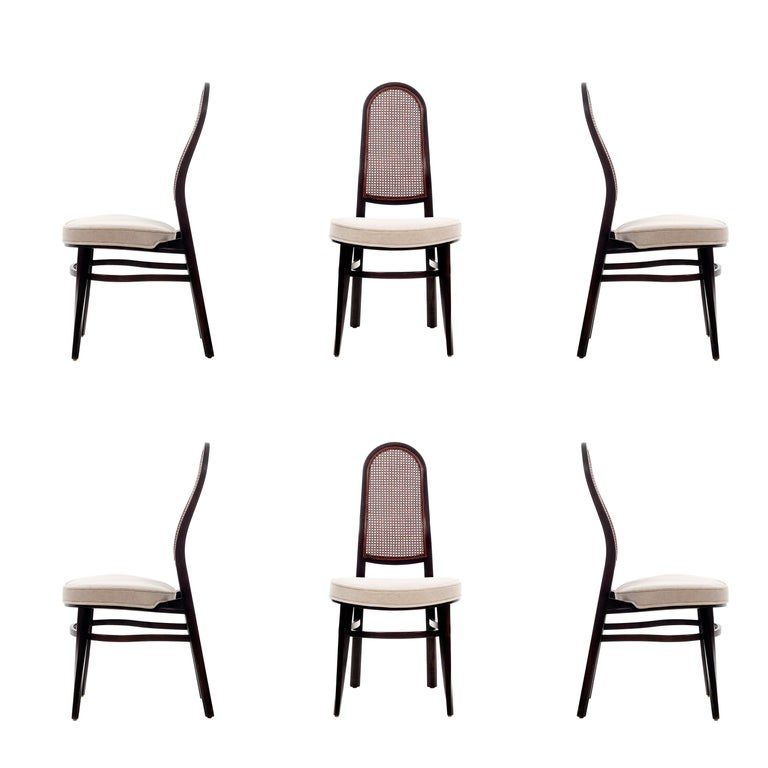 Edward Wormley for Dunbar Dining Chairs For Sale