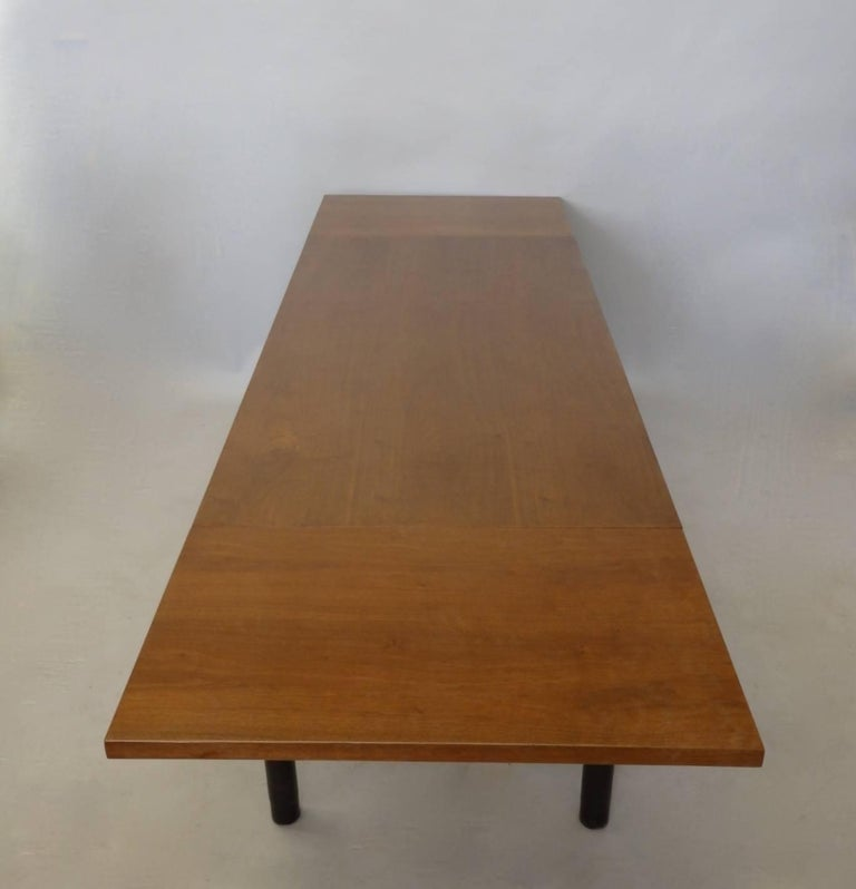 20th Century Edward Wormley for Dunbar Drop Leaf Dining Table Desk or Conference Table For Sale
