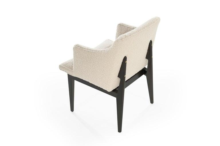 Edward Wormley for Dunbar Executive Desk and Chair Set, circa 1950s For Sale 4