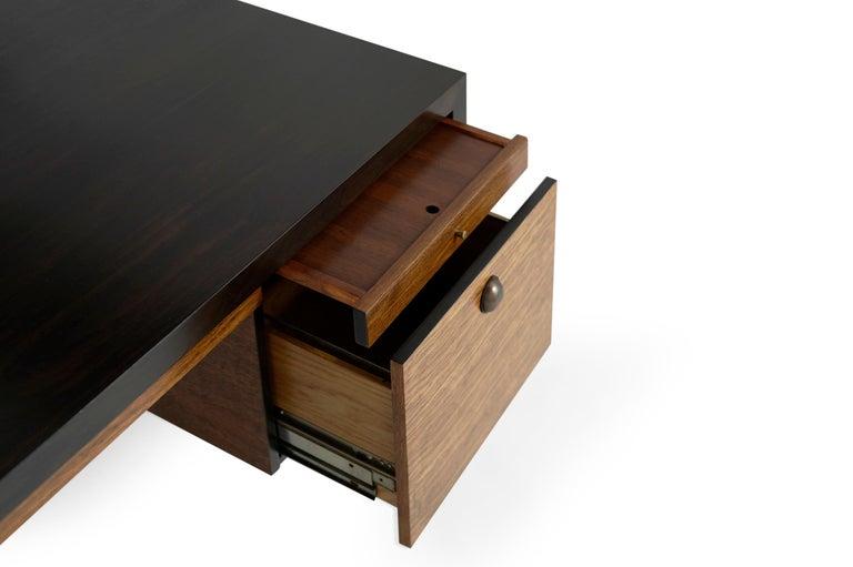 Edward Wormley for Dunbar Executive Desk and Chair Set, circa 1950s For Sale 2