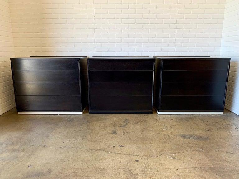 Edward Wormley for Dunbar Four-Piece Corner Dresser For Sale 1