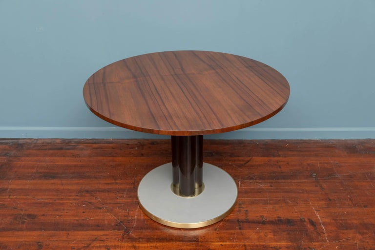 Mid-Century Modern Edward Wormley for Dunbar Game Table For Sale