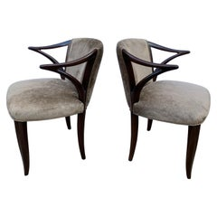 Edward Wormley for Dunbar Janus Collection Pair of Armchairs