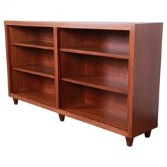 Edward Wormley for Dunbar Mahogany Double Bookcase
