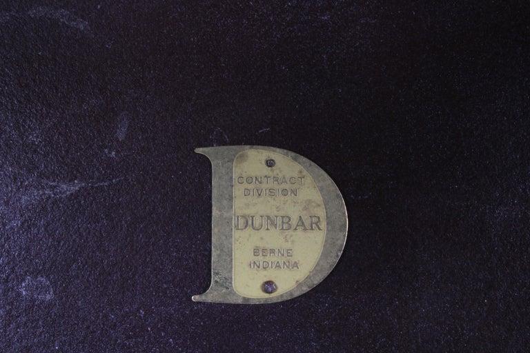 Edward Wormley for Dunbar Mid-Century Ebonized Trapezoidal Side or Drinks Table For Sale 7