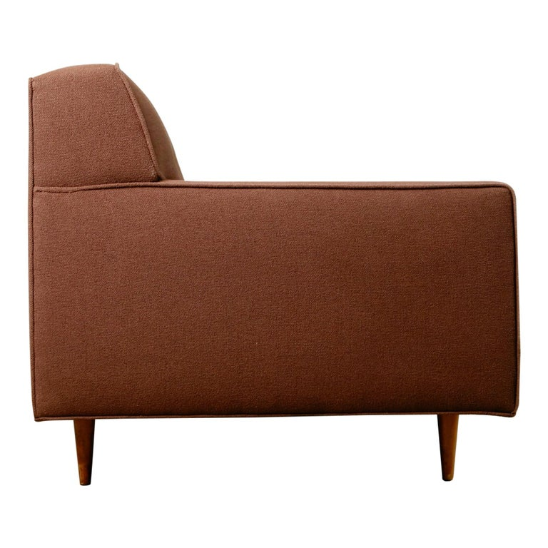 American Edward Wormley for Dunbar Mid-Century Modern Sofa, circa 1960 For Sale