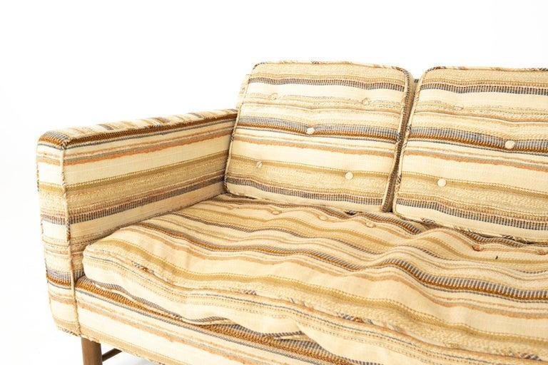 Edward Wormley for Dunbar Mid Century Sofa For Sale 4