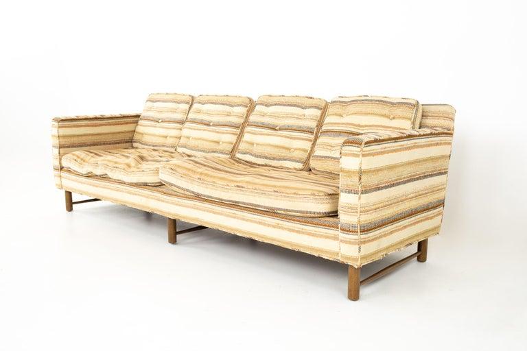 Mid-Century Modern Edward Wormley for Dunbar Mid Century Sofa For Sale