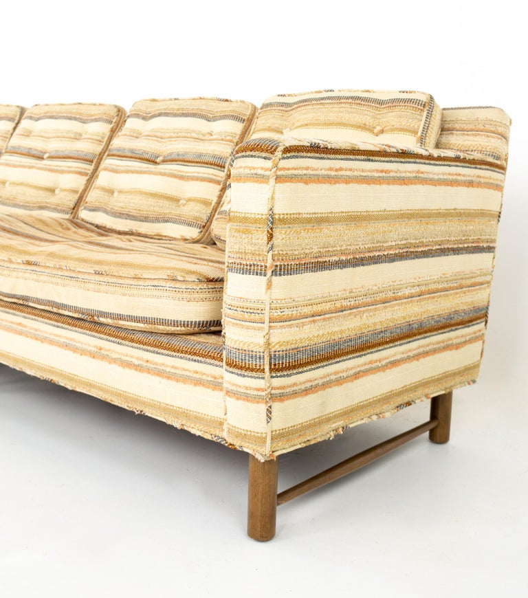 Edward Wormley for Dunbar Mid Century Sofa For Sale 2