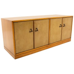 Edward Wormley for Dunbar Mid Century Mahogany Low Credenza or Bench