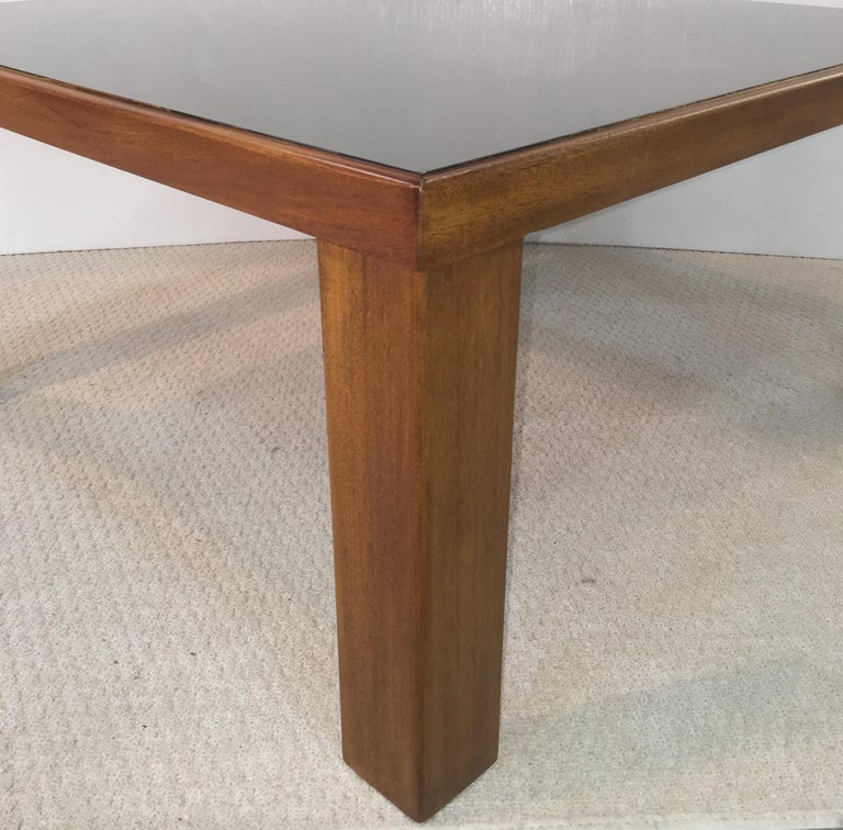 Edward Wormley for Dunbar Model 3374 Square Cocktail Table For Sale 5
