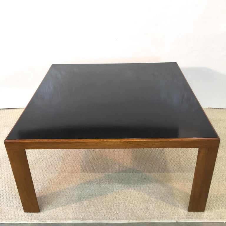 Mid-20th Century Edward Wormley for Dunbar Model 3374 Square Cocktail Table For Sale
