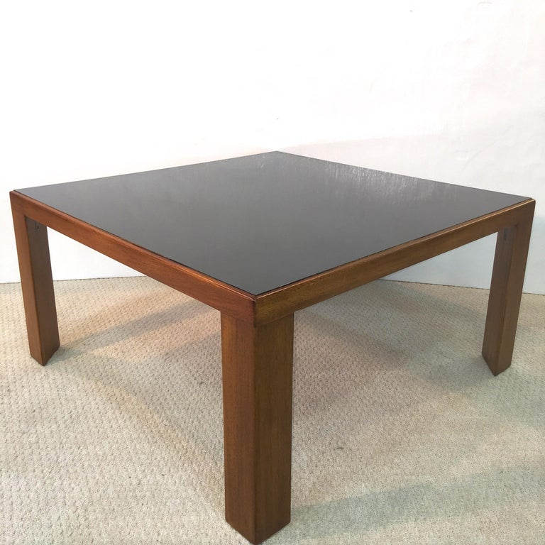 Edward Wormley for Dunbar Model 3374 Square Cocktail Table For Sale 2