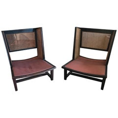 Edward Wormley for Dunbar Model 6016 Wing Chairs
