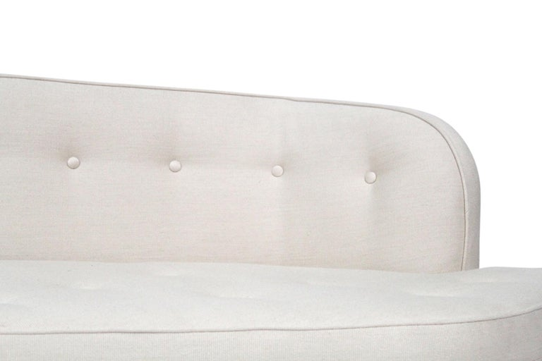 Edward Wormley for Dunbar Model 6329A Angled Sofa For Sale 5