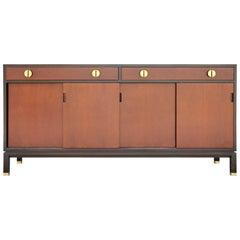 Edward Wormley for Dunbar Modern Brass Handle Sideboard / Buffett