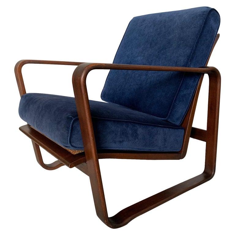 "Edward Wormley For Dunbar ""Morris""  Lounge Chair For Sale"