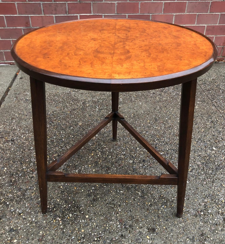 Edward Wormley for Dunbar Occasional Table with Tray For Sale 6