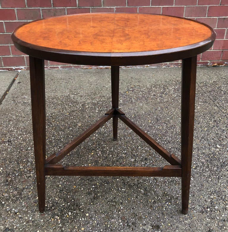 Edward Wormley for Dunbar Occasional Table with Tray For Sale 7
