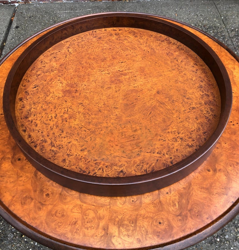 Edward Wormley for Dunbar Occasional Table with Tray For Sale 8