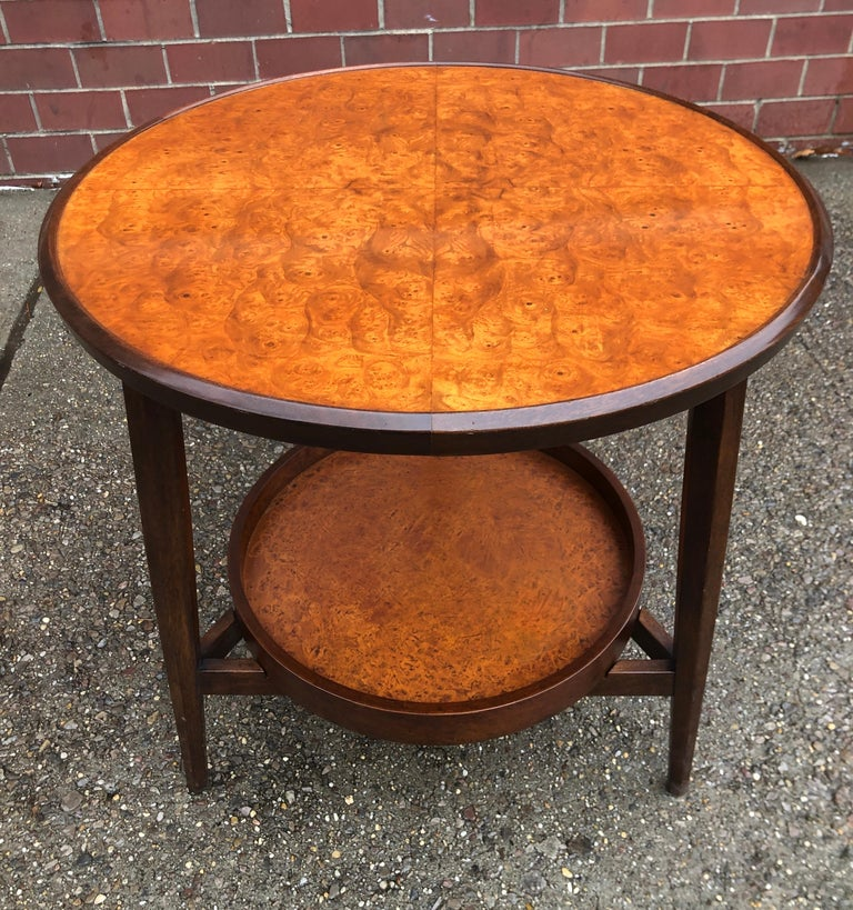 American Edward Wormley for Dunbar Occasional Table with Tray For Sale