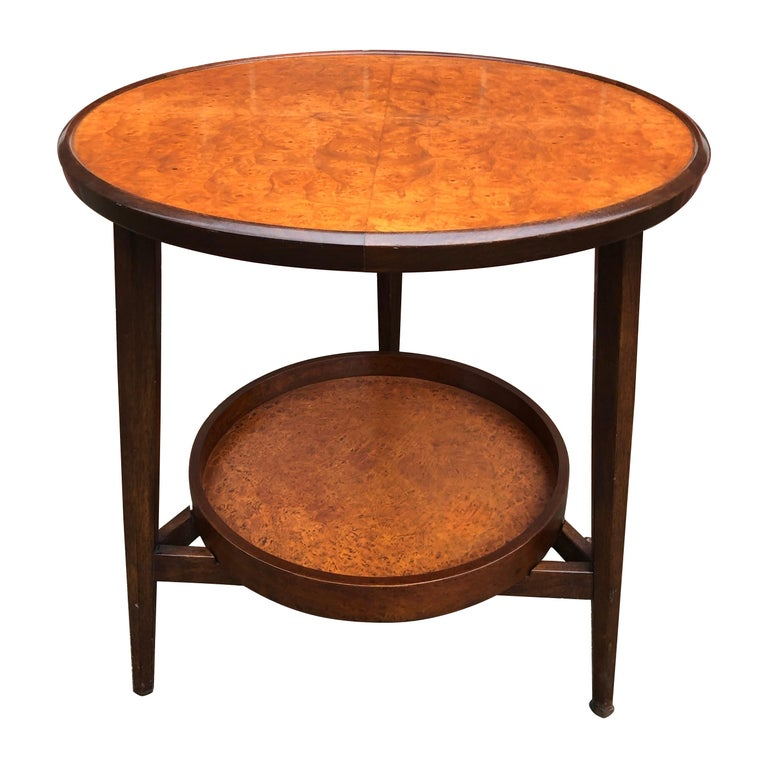 Edward Wormley for Dunbar Occasional Table with Tray For Sale