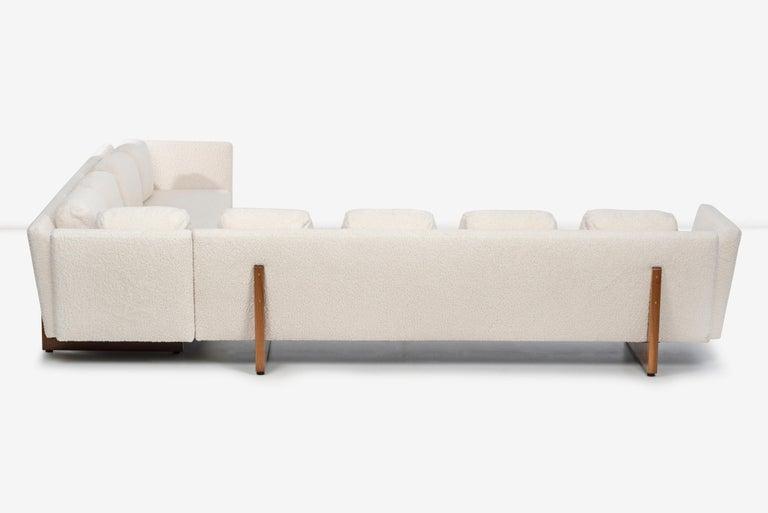 Edward Wormley for Dunbar Open-Arm Sectional Sofa For Sale 4