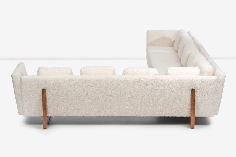 Edward Wormley for Dunbar Open-Arm Sectional Sofa For Sale 6