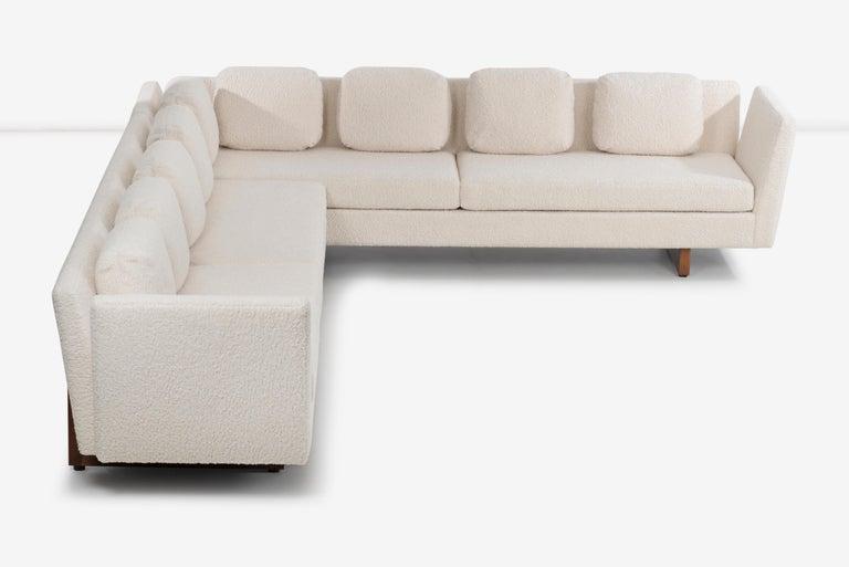 Mid-20th Century Edward Wormley for Dunbar Open-Arm Sectional Sofa For Sale
