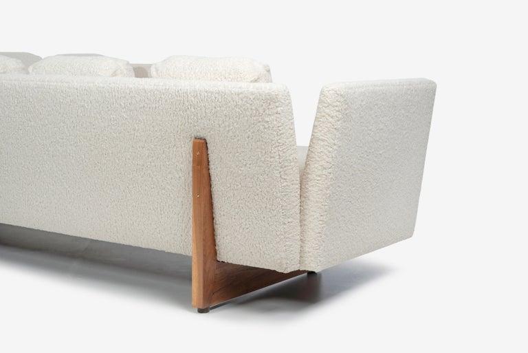Edward Wormley for Dunbar Open-Arm Sectional Sofa For Sale 2