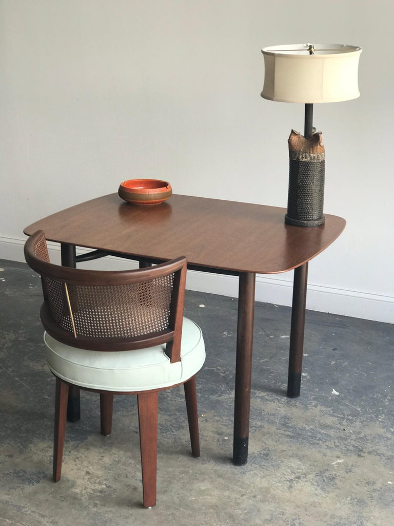 Edward Wormley for Dunbar Petite Dining Table or Desk For Sale 2