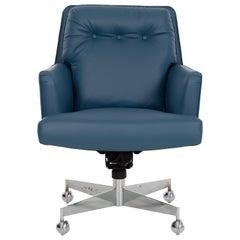 Edward Wormley for Dunbar Pillow-Back Desk Chair
