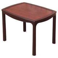 Edward Wormley for Dunbar Rosewood Occasional Side Table, Newly Refinished