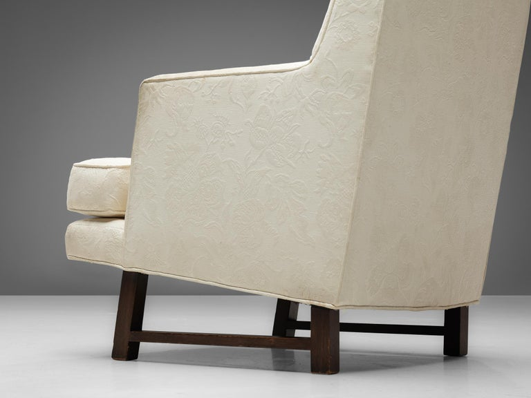 20th Century Edward Wormley for Dunbar Set of Lounge Chairs in Original Upholstery For Sale