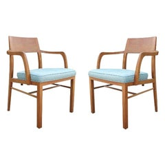 Edward Wormley for Dunbar Set of Mid-Century Modern Dining Chairs