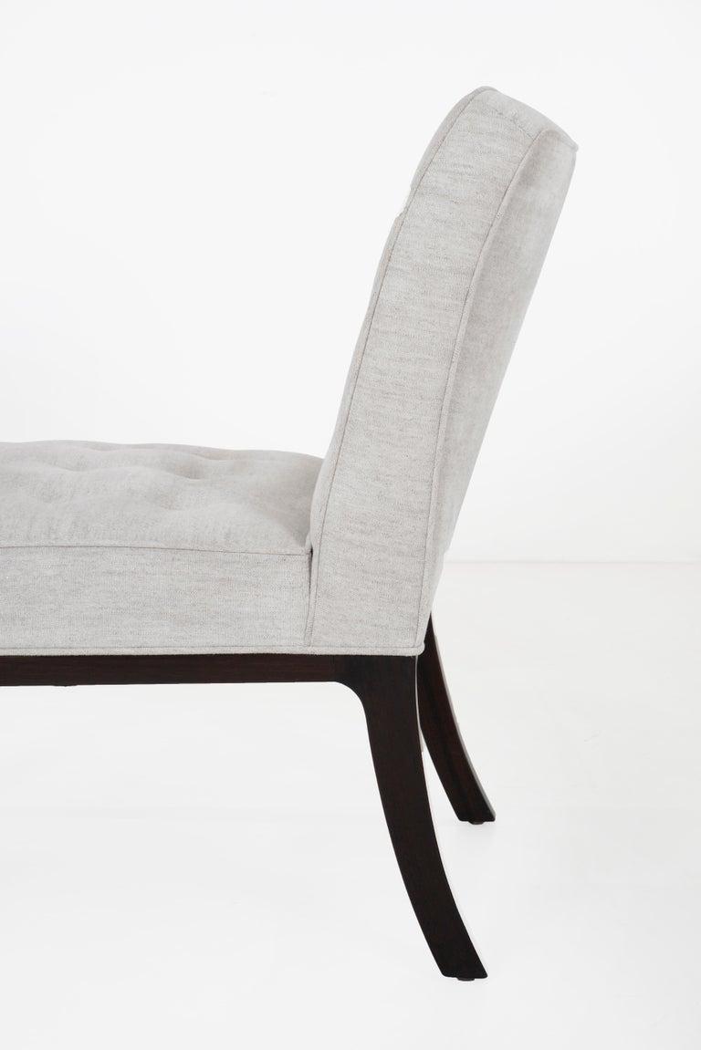 Edward Wormley for Dunbar Slipper Chairs For Sale 2