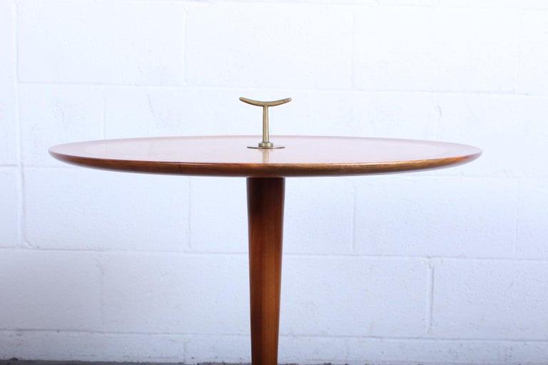 Brass Edward Wormley for Dunbar Snack Table