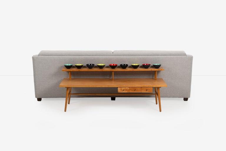 Upholstery Edward Wormley for Dunbar Sofa For Sale