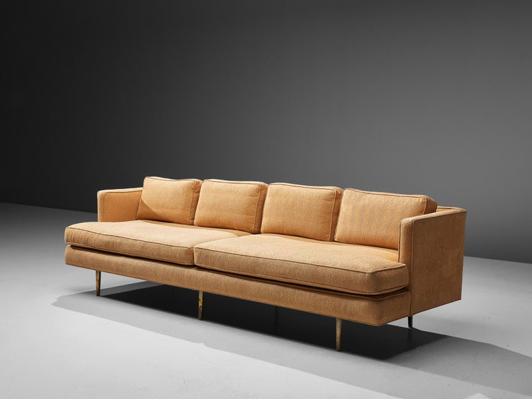 Edward Wormley for Dunbar Sofa Model 4907 In Good Condition For Sale In Waalwijk, NL