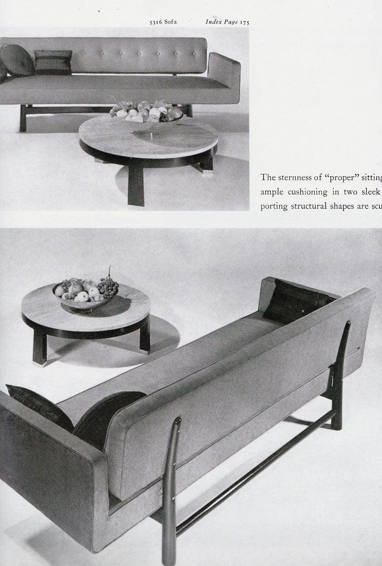 Edward Wormley for Dunbar, Sofa Model 5316 Reupholstered, circa 1950 4
