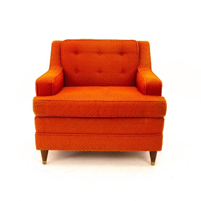 Mid-Century Modern Edward Wormley for Dunbar Style Mid Century Arm Chair For Sale