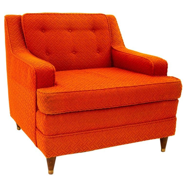 Edward Wormley for Dunbar Style Mid Century Arm Chair For Sale