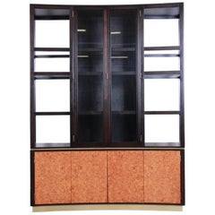 Edward Wormley for Dunbar Superstructure Wall Unit or Room Divider