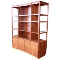 Edward Wormley for Dunbar Superstructure Wall Unit or Room Divider, Restored