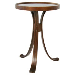Edward Wormley for Dunbar Thonet Inspired Occasional Table on Bentwood Legs